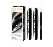 L'OREAL Duo Mega Volume Collagene + Free2 Mascaras Mega Volume Collagene 24H Black + 1 Free Contour KhĂ´l Black)