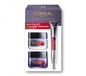 L'OREAL Revitalift Filler Programme Set cont.: Day Cream 50 ml (GH 1120665) + Night Cream 50 ml (GH 1178532) + Eye Cream 15 ml (GH 1178533)