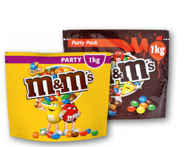 M&M's Party Pack - 1kg